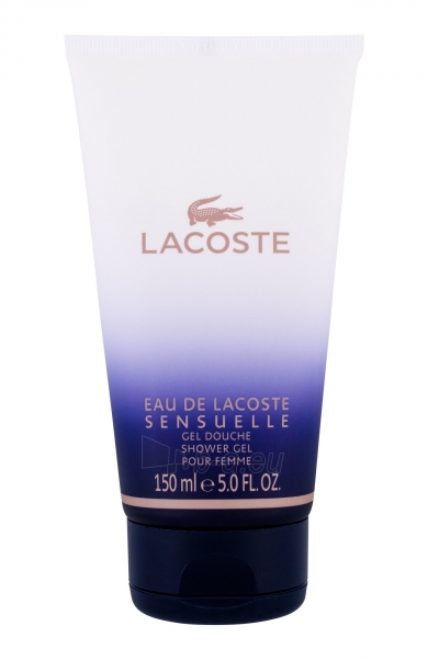 Dušo želė Lacoste Eau de Lacoste Sensuelle Shower gel 150ml Paveikslėlis 1 iš 1 2508950000814