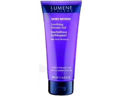 Dušo želė Lumene Berry Refresh Blueberry (Soothing Shower Gel With Arctic Blueberry) 200ml Paveikslėlis 1 iš 1 2508950000910