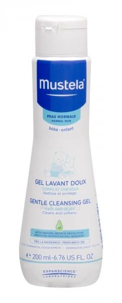Dušo želė Mustela Bébé Gentle Cleansing Gel 200ml Hair and Body Paveikslėlis 1 iš 1 310820206847