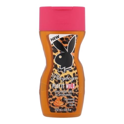 Dušo želė Playboy Play It Wild Shower gel 250ml moteriška Paveikslėlis 1 iš 1 2508950001119