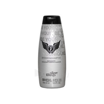 Shower gel Police Silver Wings Shower gel 250ml Paveikslėlis 1 iš 1 2508950000410
