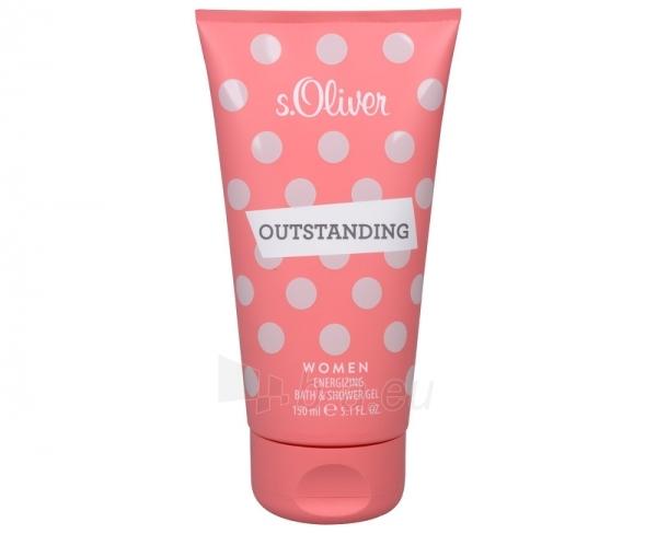 Shower gel s.Oliver Outstanding Women - sprchový gel - 150 ml Paveikslėlis 1 iš 1 2508950001089