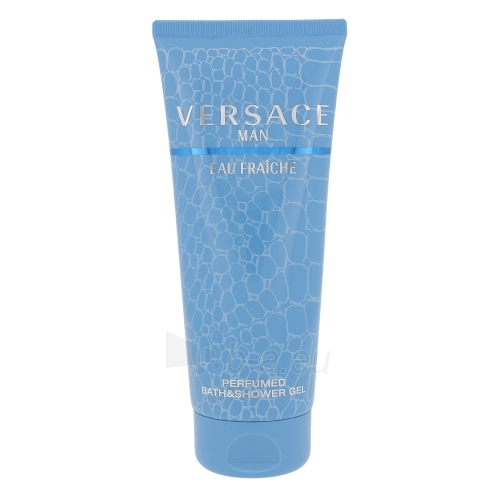 Dušo želė Versace Man Eau Fraiche Shower gel 200ml Paveikslėlis 1 iš 1 2508950000454