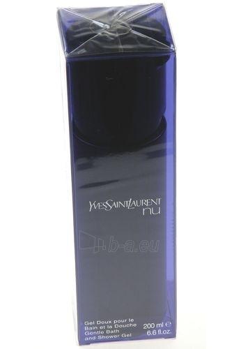 Shower gel Yves Saint Laurent Nu Shower gel 200ml Paveikslėlis 1 iš 1 2508950000463