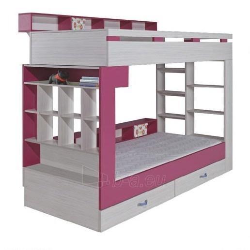 Dviaukštė lova KM 14 Paveikslėlis 1 iš 1 300416000014