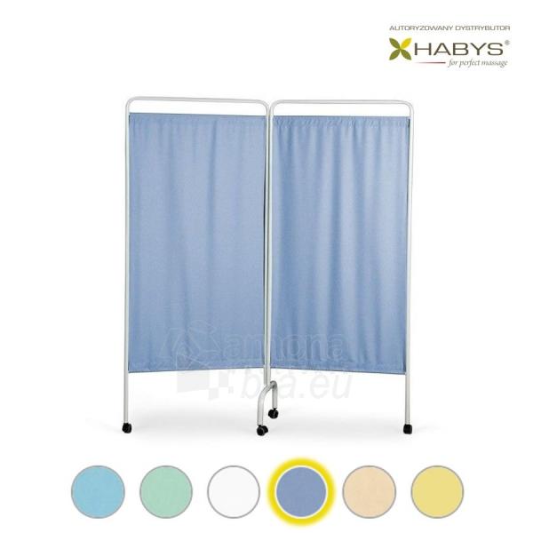 Dviejų dalių širma HABYS Parawan Standard II Blue Paveikslėlis 1 iš 1 310820205707