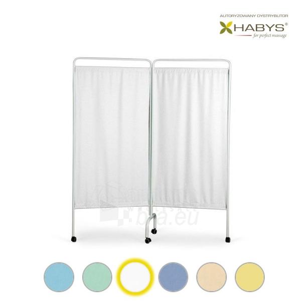 Dviejų dalių širma HABYS Parawan Standard II White Paveikslėlis 1 iš 1 310820205708