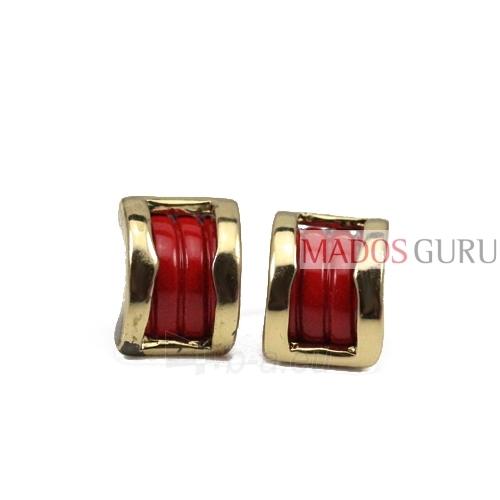 Two colors earrings A281 Paveikslėlis 1 iš 1 30070000413