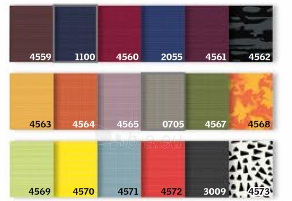 Dviguba užuolaidėlė DFD MK10 78x160 cm standartinė Paveikslėlis 1 iš 4 310820027105
