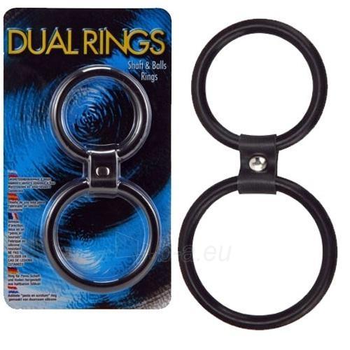 Dvigubas žiedas - kotui ir sėklidėms Paveikslėlis 1 iš 1 25140304000004
