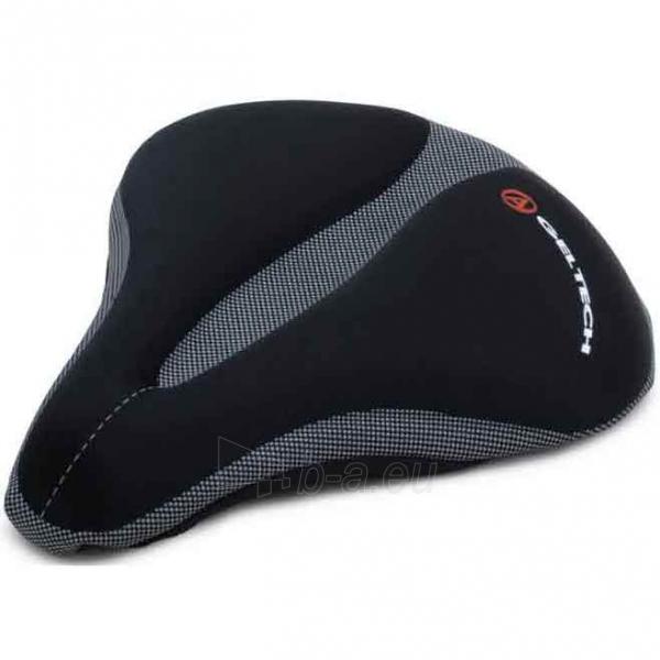 Dviračio balnelis ASD-GelTech XL black Paveikslėlis 1 iš 1 310820080560
