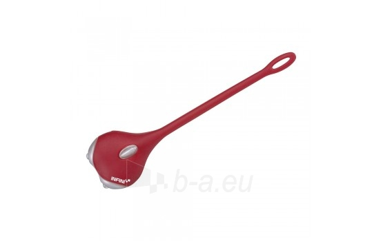 Dviračio lemputė INFINI AMUSE Red Paveikslėlis 1 iš 1 310820014952