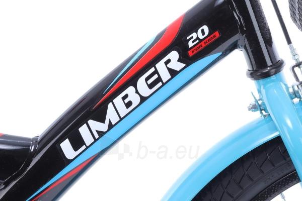 Velosipēds Monteria Limber 20 black-blue-red Paveikslėlis 4 iš 8 310820250848