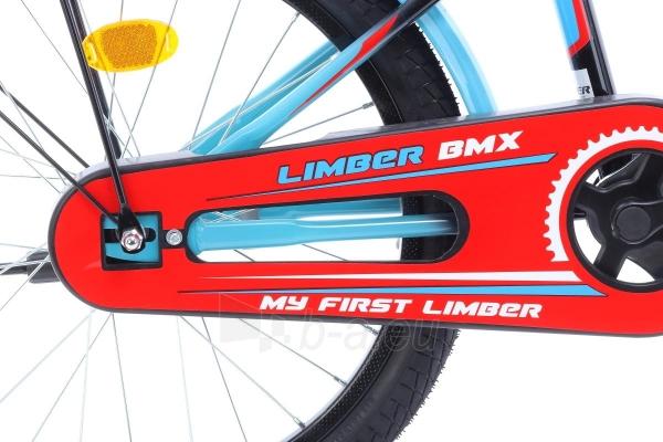 Velosipēds Monteria Limber 20 black-blue-red Paveikslėlis 5 iš 8 310820250848