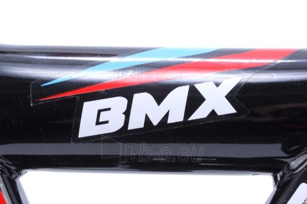 Velosipēds Monteria Limber 20 black-blue-red Paveikslėlis 6 iš 8 310820250848