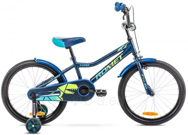 Dviratis Romet Tom 20 2021 blue-green Paveikslėlis 1 iš 1 310820250839