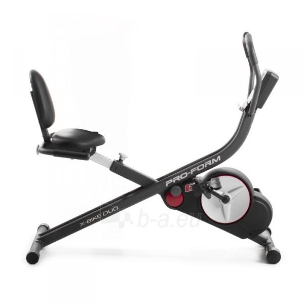 Dviratis Treniruoklis ProForm X-Bike Duo Paveikslėlis 2 iš 3 310820199701
