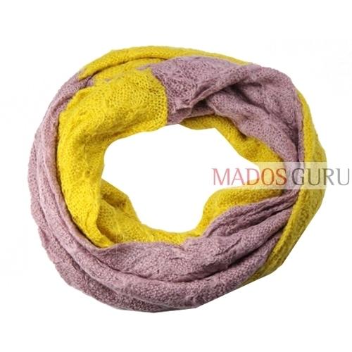 Dvispalvis megztas scarf MSL427 Paveikslėlis 1 iš 1 30063100394