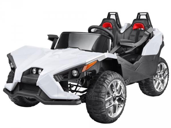 Dvivietis elektromobilis Buggy , baltas Paveikslėlis 1 iš 12 310820193311