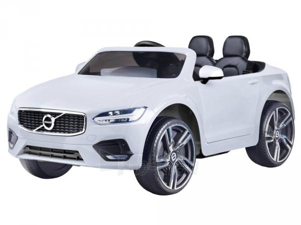 Dvivietis elektromobilis Volvo S90, baltas Paveikslėlis 13 iš 13 310820193328