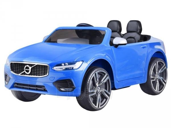 Dvivietis elektromobilis Volvo S90, mėlynas Paveikslėlis 11 iš 13 310820193384
