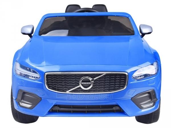 Dvivietis elektromobilis Volvo S90, mėlynas Paveikslėlis 10 iš 13 310820193384