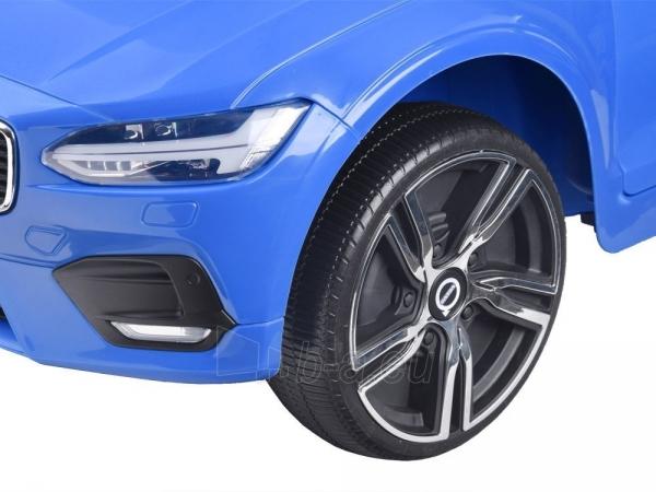 Dvivietis elektromobilis Volvo S90, mėlynas Paveikslėlis 9 iš 13 310820193384