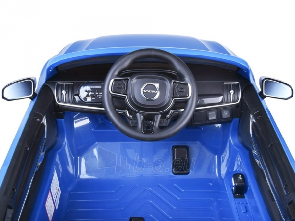 Dvivietis elektromobilis Volvo S90, mėlynas Paveikslėlis 7 iš 13 310820193384