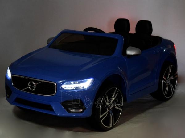 Dvivietis elektromobilis Volvo S90, mėlynas Paveikslėlis 6 iš 13 310820193384