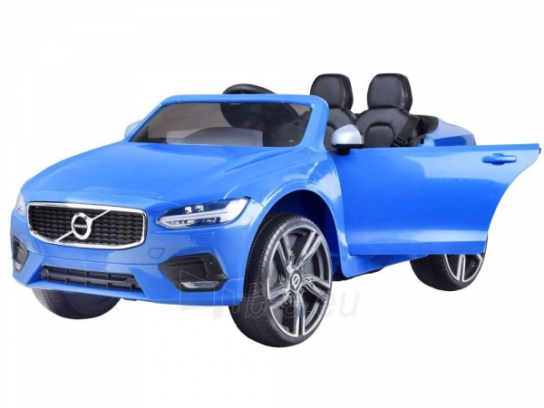 Dvivietis elektromobilis Volvo S90, mėlynas Paveikslėlis 5 iš 13 310820193384