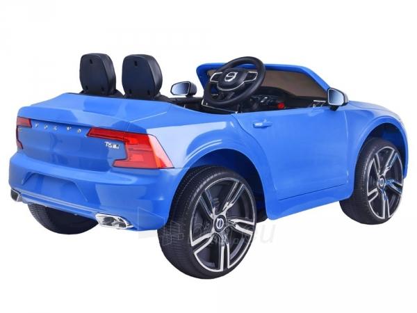 Dvivietis elektromobilis Volvo S90, mėlynas Paveikslėlis 4 iš 13 310820193384
