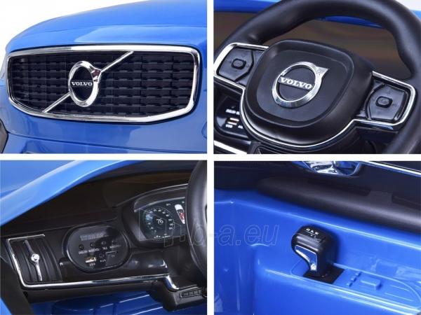 Dvivietis elektromobilis Volvo S90, mėlynas Paveikslėlis 2 iš 13 310820193384