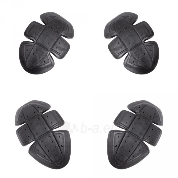 Dygsniuota moto striukė su apsaugomis W-Tec Grodis Black Paveikslėlis 6 iš 10 310820218046