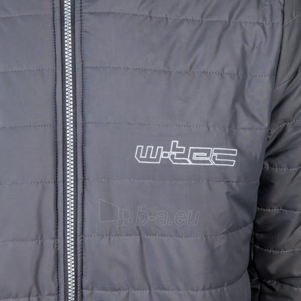 Dygsniuota moto striukė su apsaugomis W-Tec Grodis Black Paveikslėlis 5 iš 10 310820218046