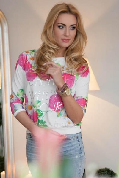 Džemperis Juju (rožinės spalvos) Paveikslėlis 1 iš 3 310820046774