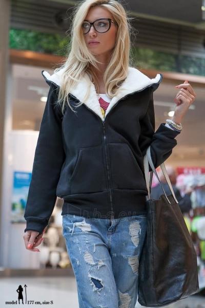 Džemperis Padila (juodos spalvos) Paveikslėlis 1 iš 5 310820032478