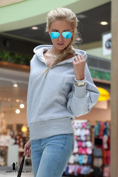 Džemperis Pedina (šviesiai pilkos spalvos) Paveikslėlis 1 iš 4 310820032477