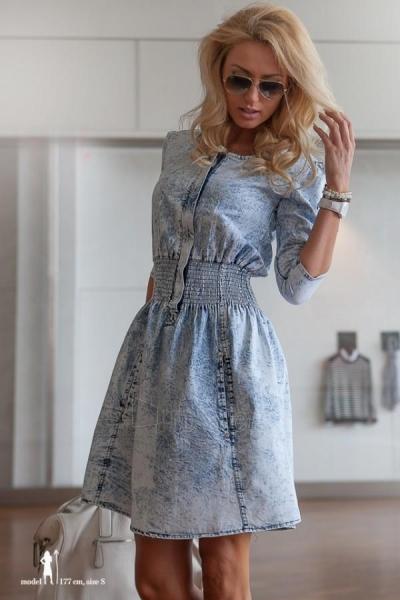Džinsinė suknelė Ekka Paveikslėlis 1 iš 5 310820032778