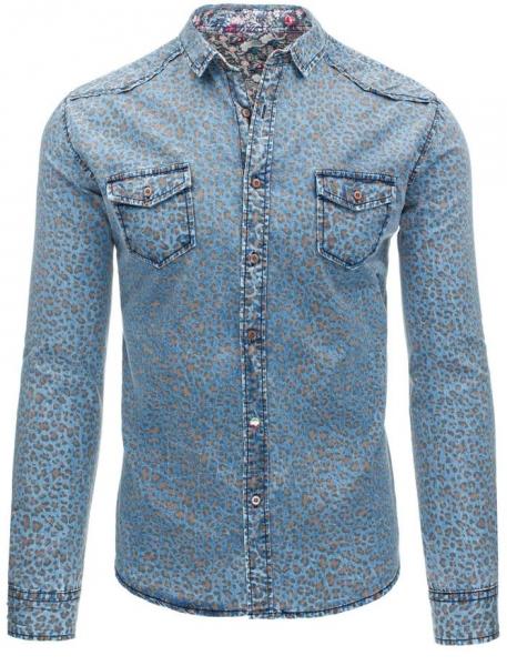 Džinsiniai marškiniai Kent Paveikslėlis 1 iš 7 310820034429