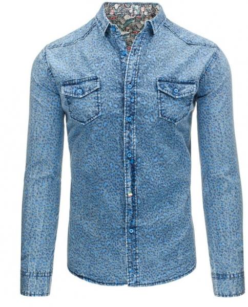 Džinsiniai marškiniai Kenton Paveikslėlis 1 iš 7 310820034428