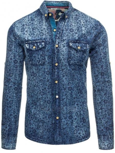Džinsiniai marškiniai Kenyon Paveikslėlis 1 iš 7 310820034427