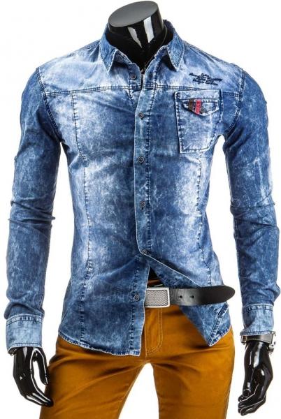 Džinsiniai marškiniai Rodge Paveikslėlis 1 iš 6 310820043604
