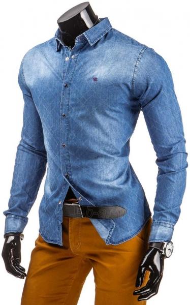 Džinsiniai marškiniai Roger Paveikslėlis 1 iš 5 310820034403
