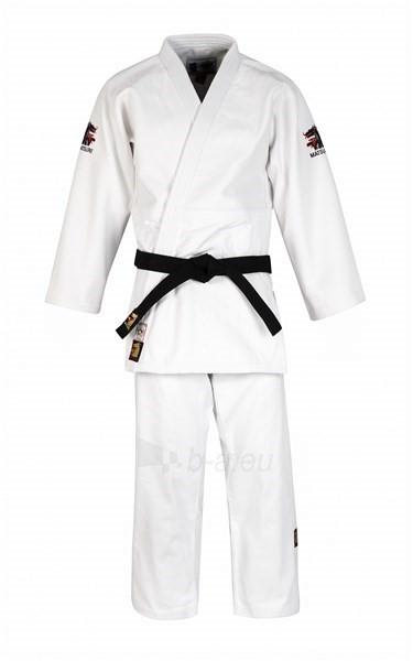 Dziudo kimono MONDIAL IJF 750g 155cm baltas Paveikslėlis 1 iš 1 310820084339