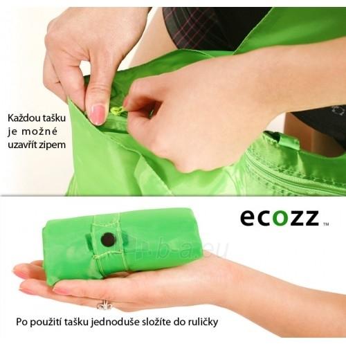 Ecozz Pirkinių Krepšys Black and White 1 BW01 Paveikslėlis 3 iš 3 30063201469