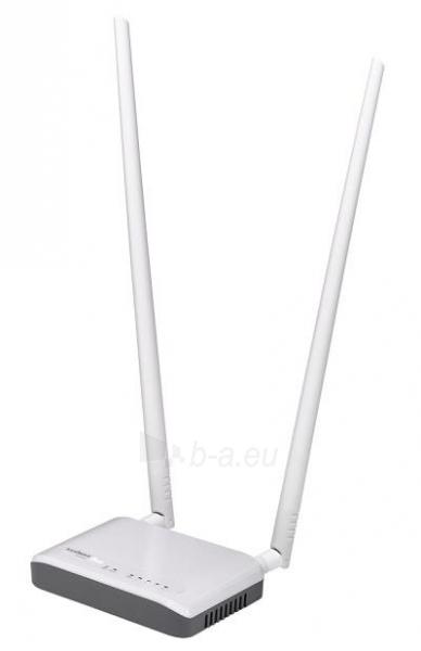 Edimax 802.11n N300 Router, 10/100 1xWAN, 4xLAN, 2x 9dBi detachable antena Paveikslėlis 11 iš 12 250257200553