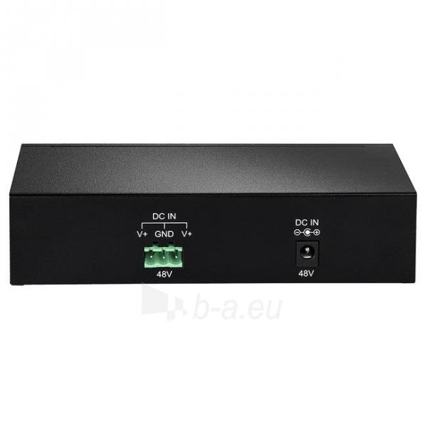 Edimax 8x 10/100/1000Mbps Switch, 4x PoE ports, 802.3af, 48W budget (15,4/p.) Paveikslėlis 4 iš 6 250257501162