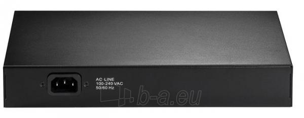 Edimax 8x 10/100 PoE+ switch, 802.3at/af, 80W budget (30W/port) Paveikslėlis 4 iš 4 250257501159