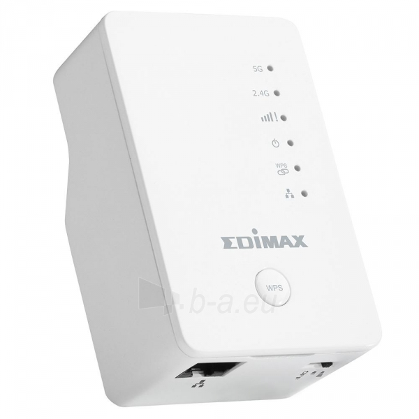 Edimax AC750 Wi-Fi Dual Band Extender / Repeater 5+2,4GHz Paveikslėlis 1 iš 5 250257100701