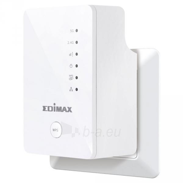 Edimax AC750 Wi-Fi Dual Band Extender / Repeater 5+2,4GHz Paveikslėlis 2 iš 5 250257100701